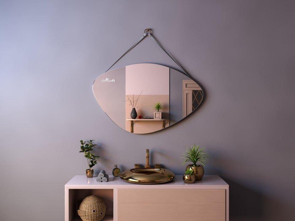 Зеркало на ременном подвесе Allure