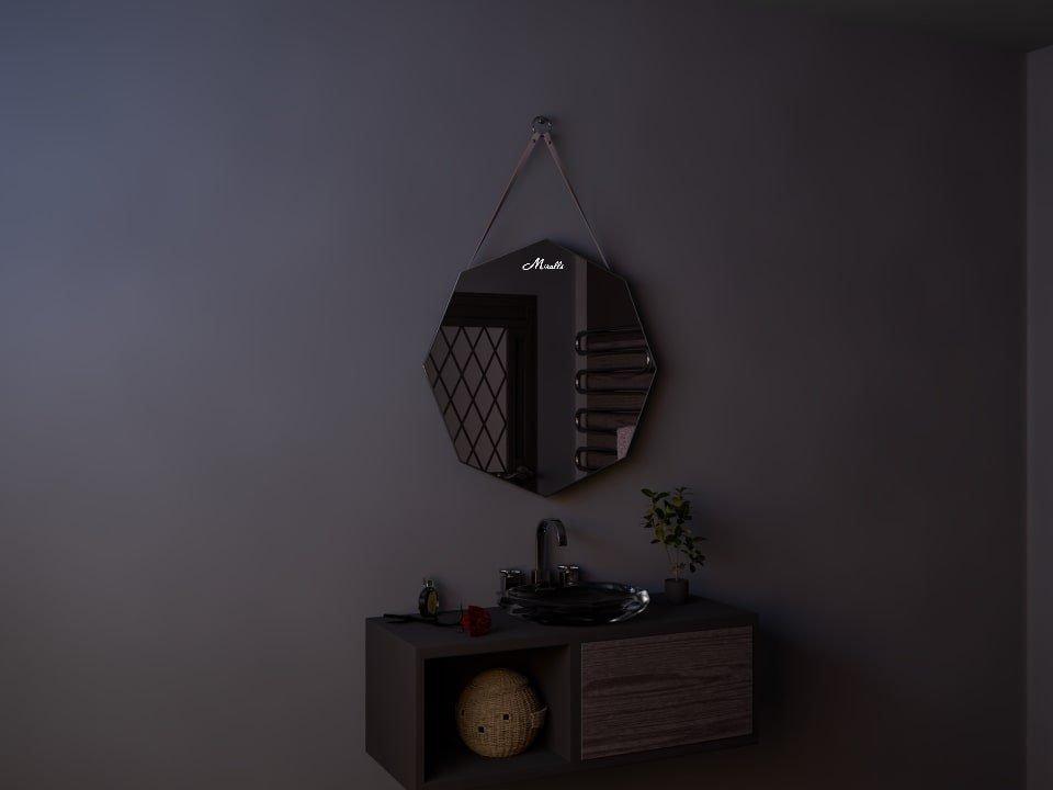Зеркало на ременном подвесе Juliet