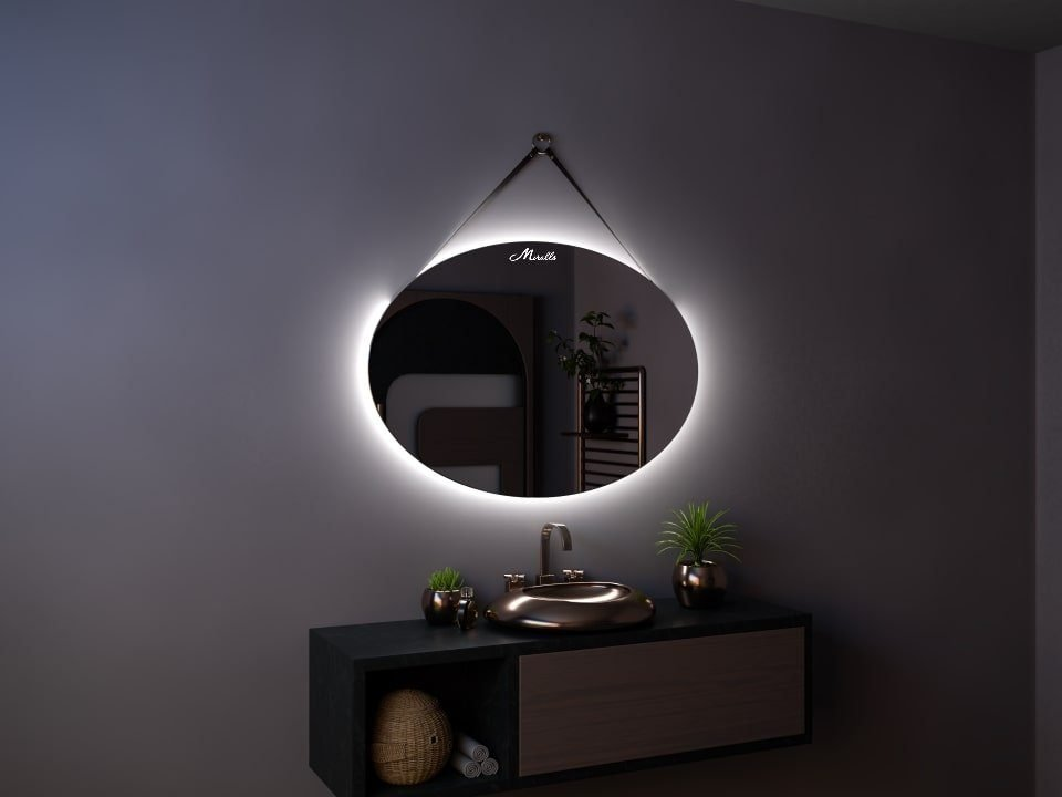Зеркало на ремне с подсветкой Nomad Extra