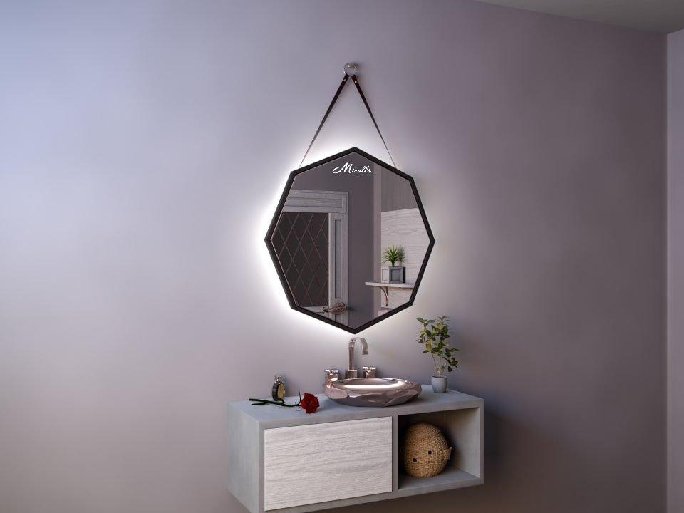 Зеркало с подсветкой на ремне Candy Extra