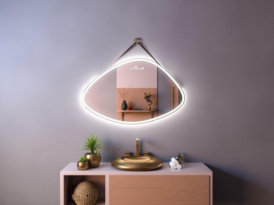 Эксклюзивное зеркало на ремне с подсветкой Allure Plus