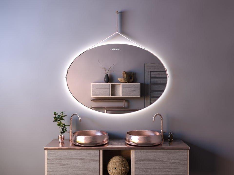 Эксклюзивное зеркало на ремне с подсветкой Symphony Extra