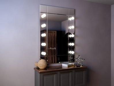 Гримёрное зеркало с фацетом Strip