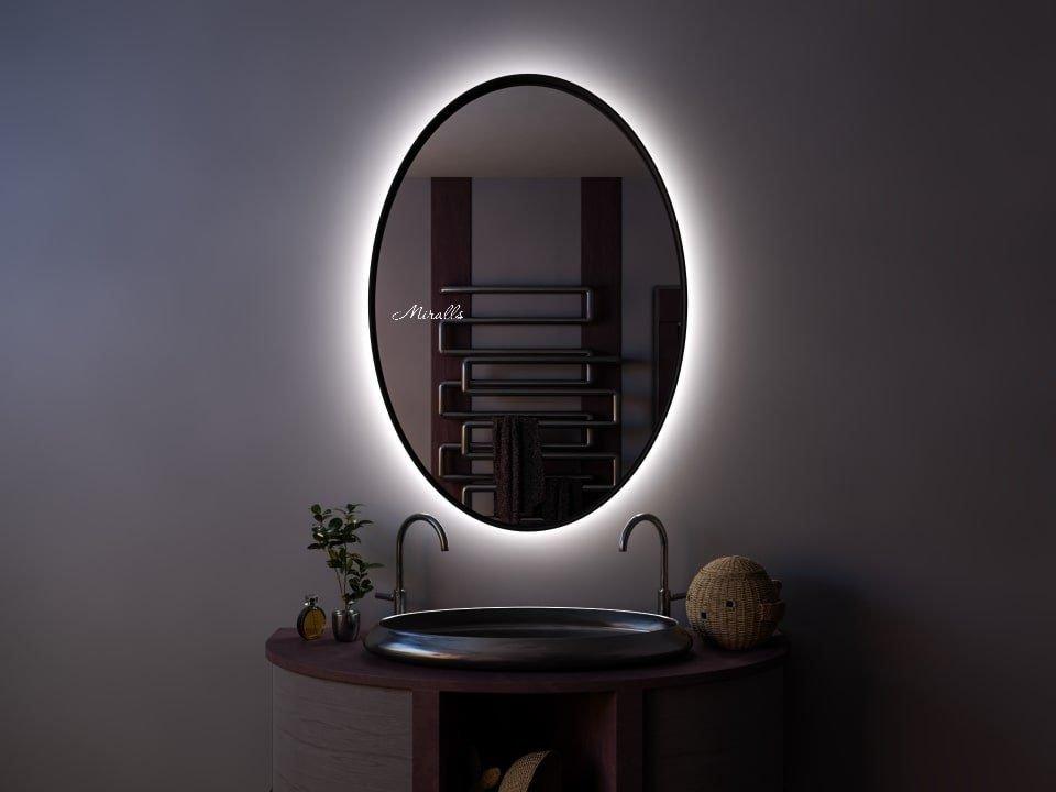 Зеркало в раме с подсветкой Leya Extra