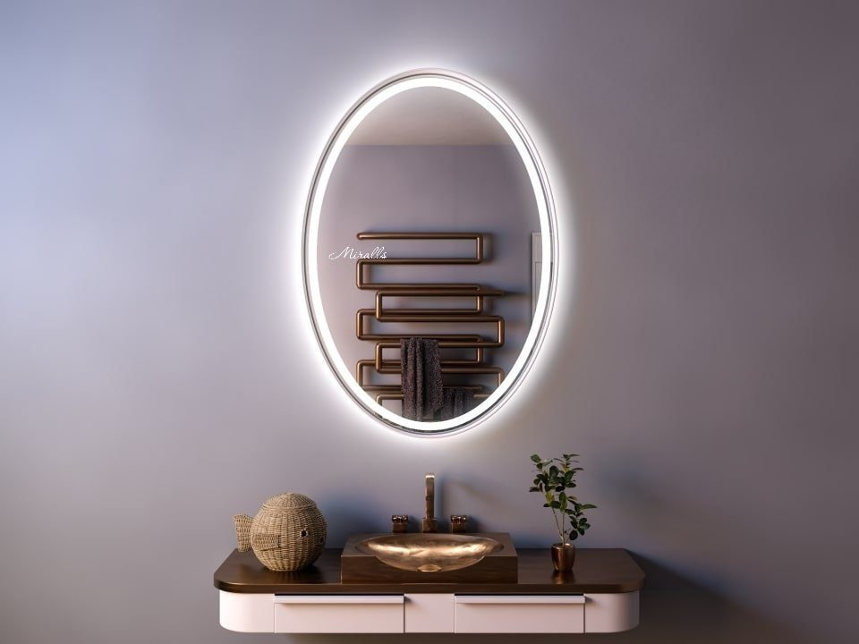 Зеркало в раме с подсветкой Leya Plus