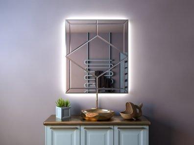дизайнерское зеркало с интерьерной подсветкой - Isabel-Extra