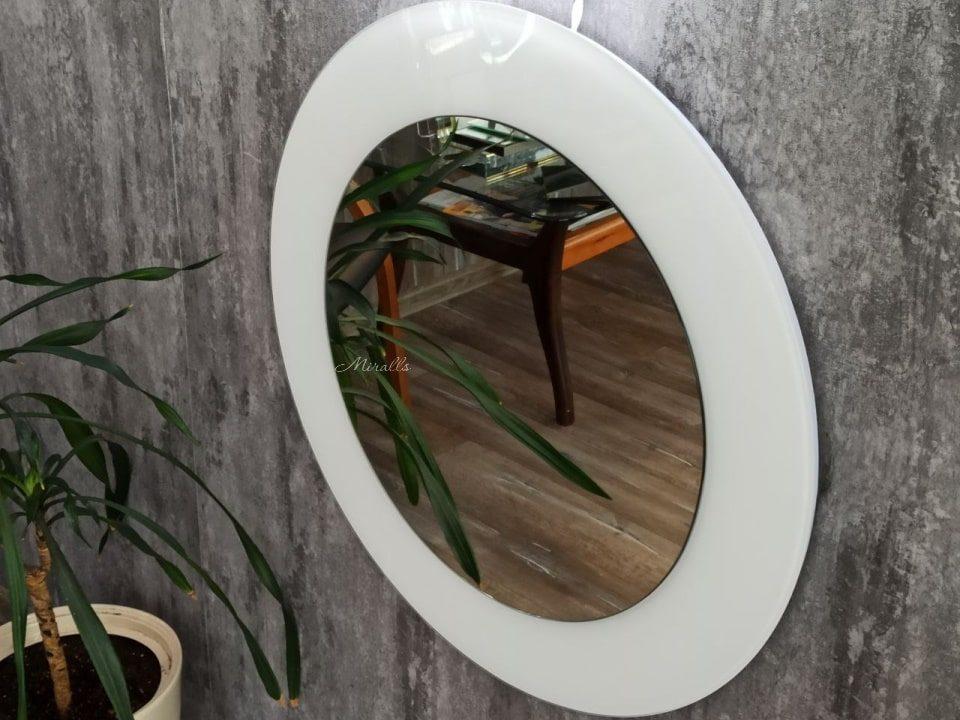 круглое зеркало с интерьерной подсветкой - Lumen