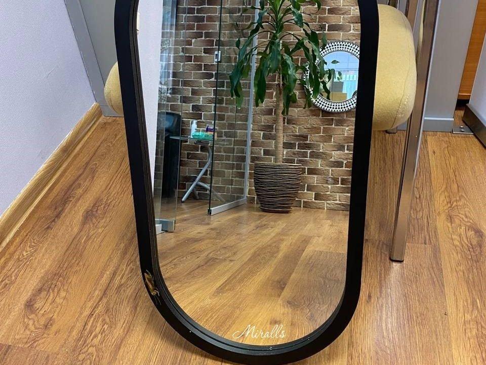 зеркало с рисунком и подсветкой Alba