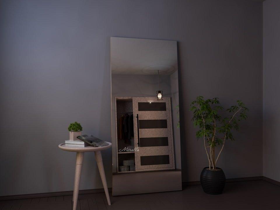 без подсветки напольное зеркало Antey