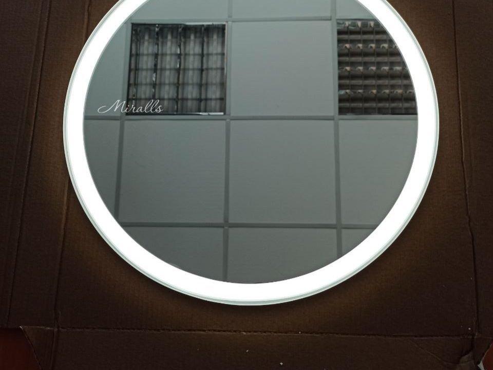 круглое зеркало с фронтальной подсветкой Disk