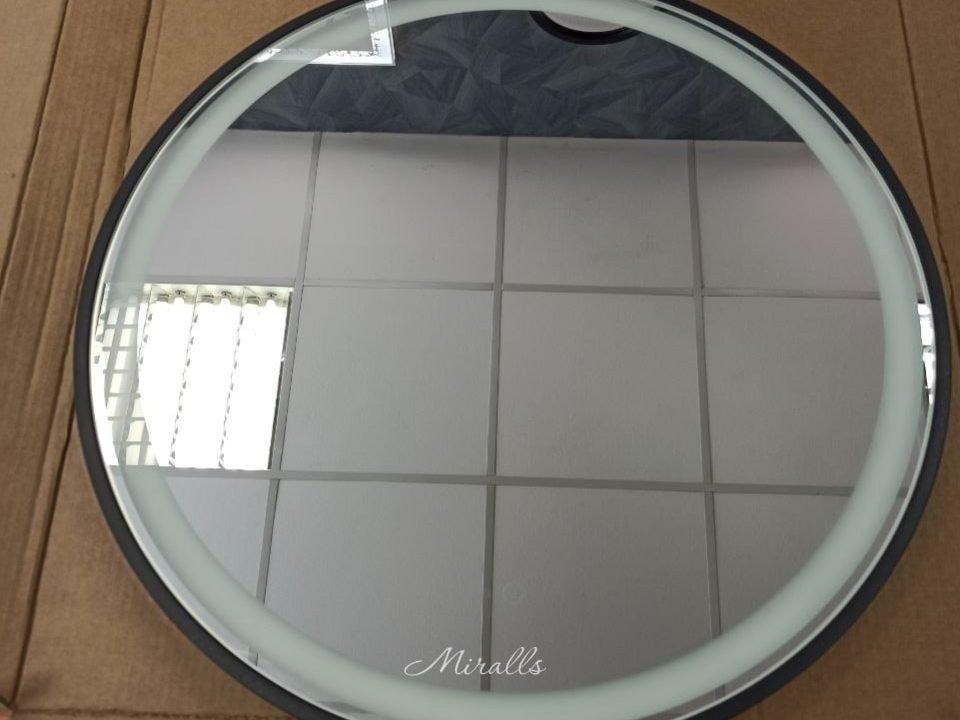 круглое зеркало с фронтальной подсветкой и тач-сенсором Medea Plus