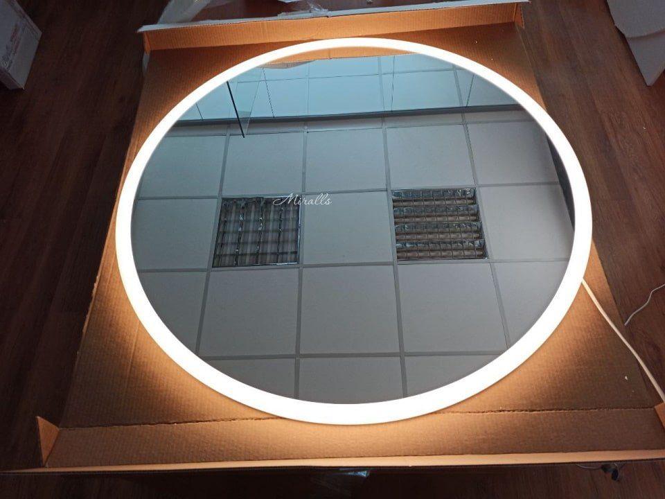 круглое зеркало с подсветкой диаметр 90 см Disk