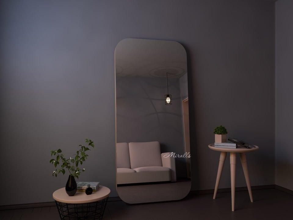 напольное зеркало без подсветки прямоугольное Satin