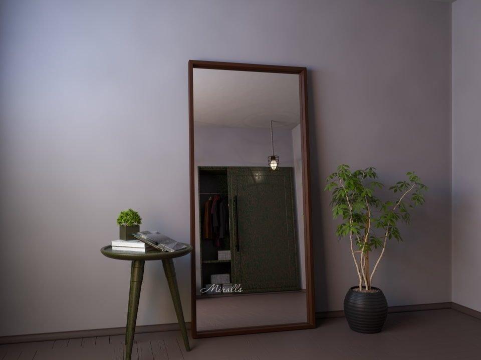 напольное зеркало прямоугольной формы без подсветки Bronx