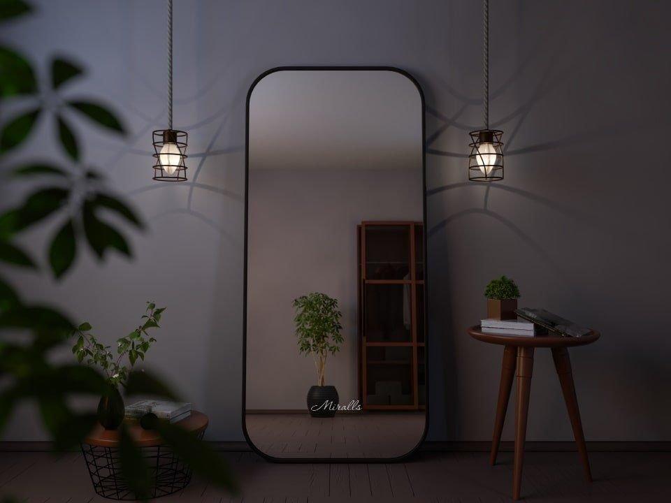 зеркало напольное без подсветки прямоугольное Look