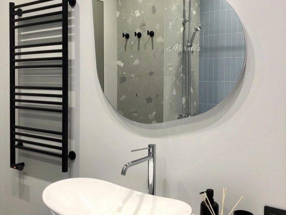 зеркало Opal Double с подсветкой в ванне