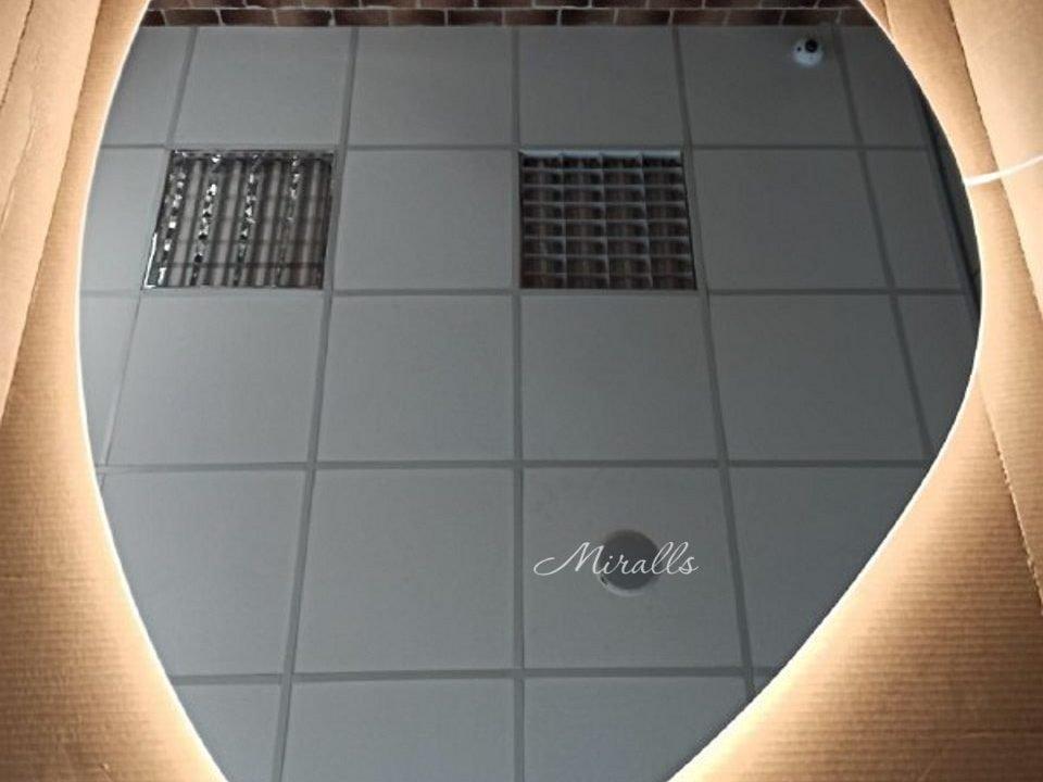 дизайнерское зеркало с подсветкой Onyx Extra