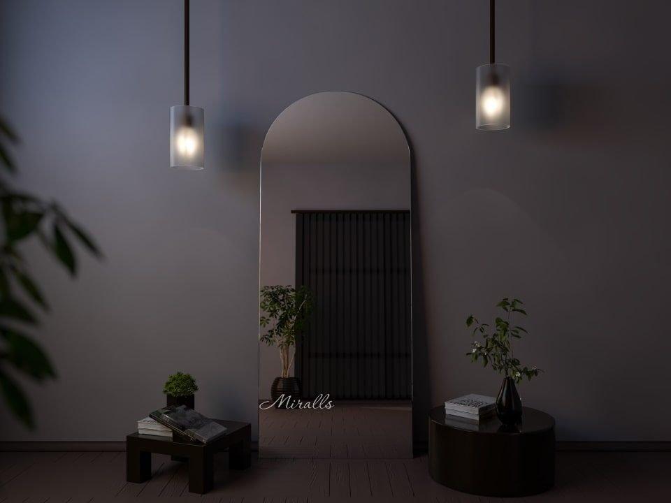 напольное зеркало Elegia фигурной формы без подсветки
