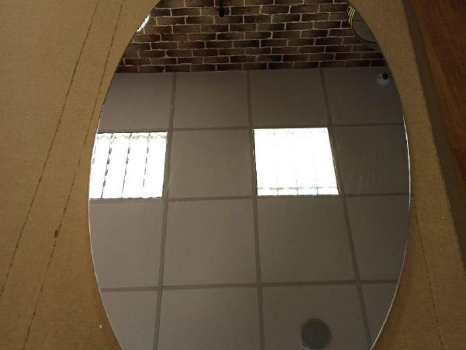 овальное зеркало без подсветки Azora