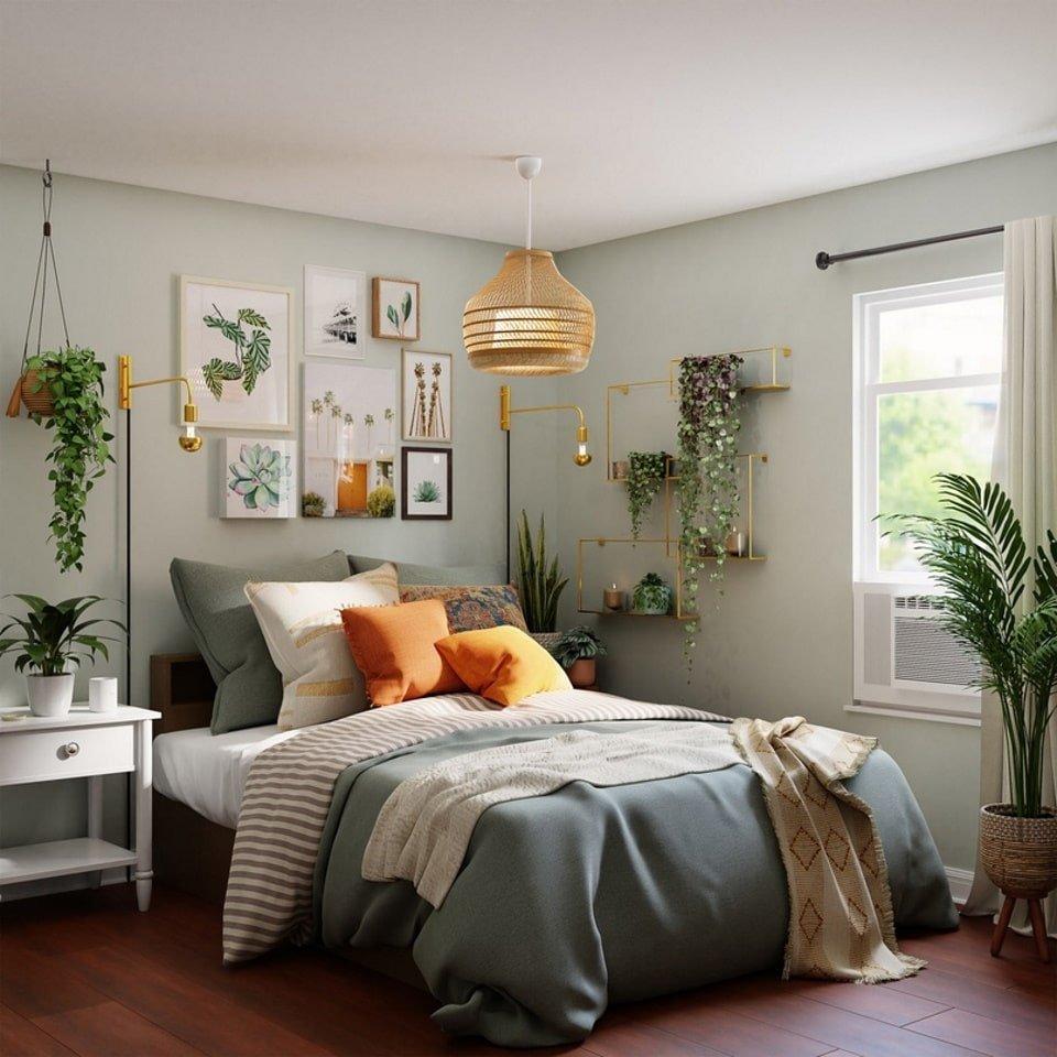 Статья - Главные ошибки в дизайне интерьера - цвет для интерьера спальни