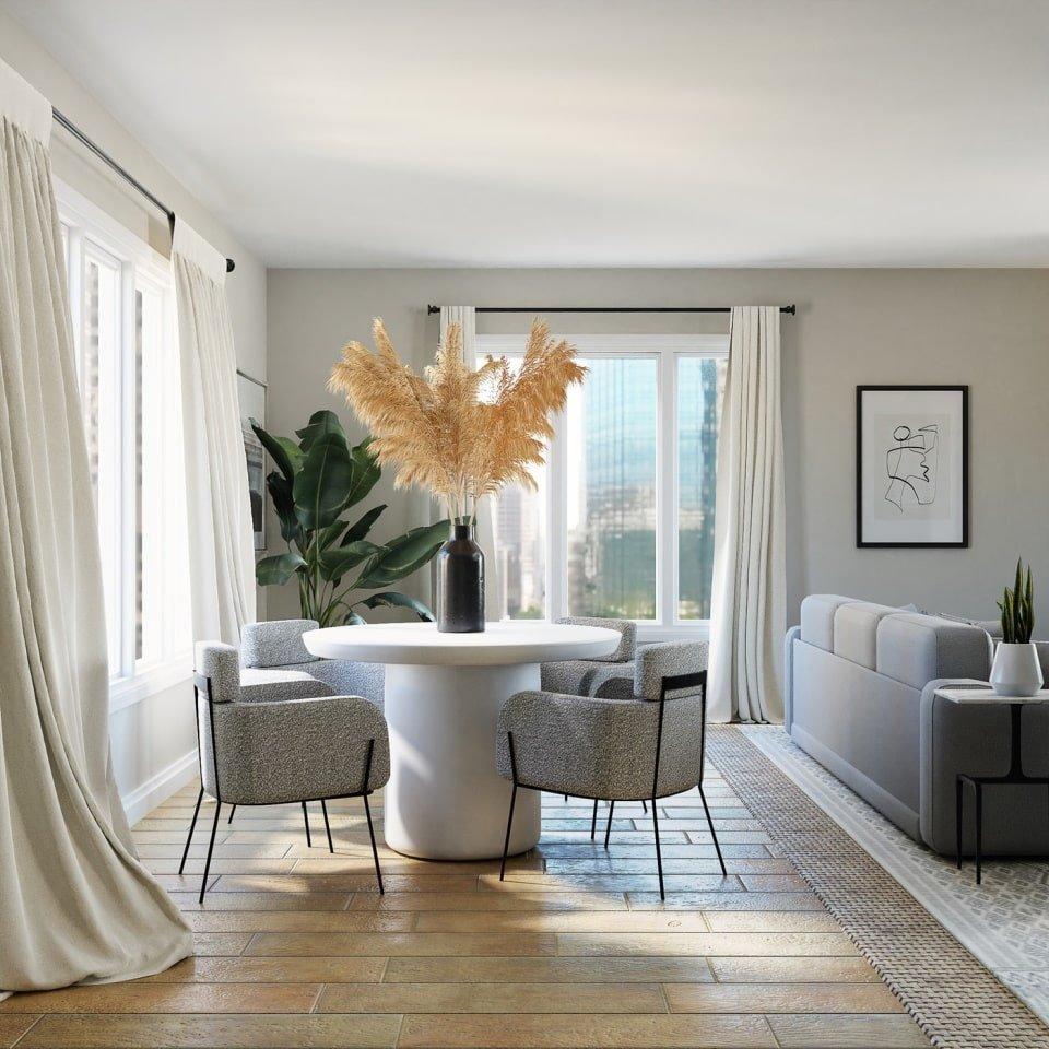 Статья - Главные ошибки в дизайне интерьера - дизайн светлой комнаты