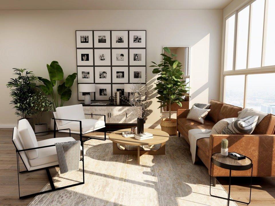 Статья - Главные ошибки в дизайне интерьера - солнечный свет в комнате