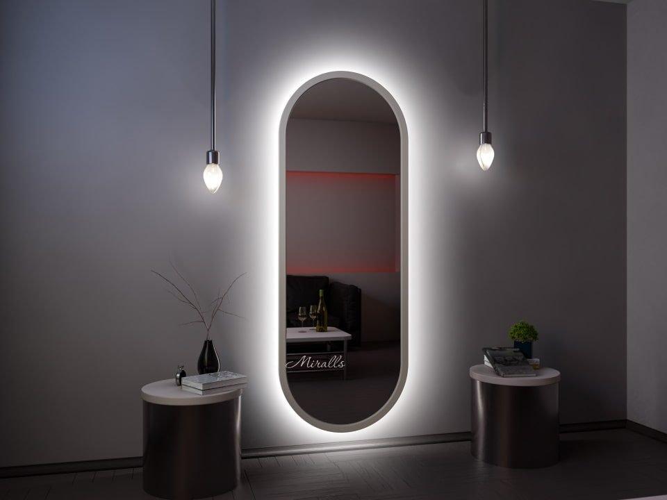 зеркало Alba XL с интерьерной подсветкой