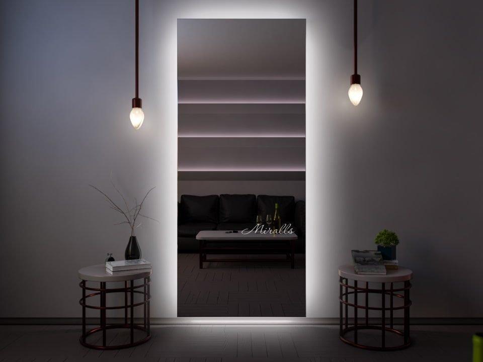 зеркало с интерьерной подсветкой Basic XL