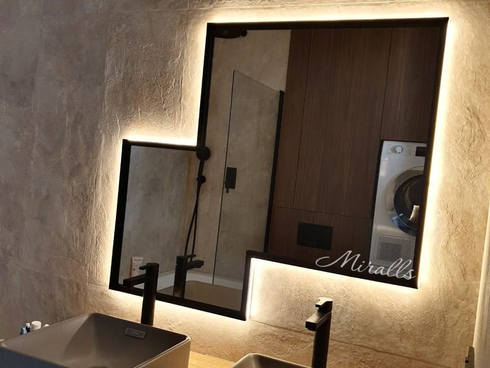 зеркало с подсветкой Kant Extra в ванне