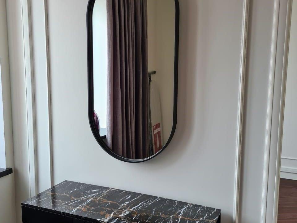 Капсульное зеркало Barbara без подсветки