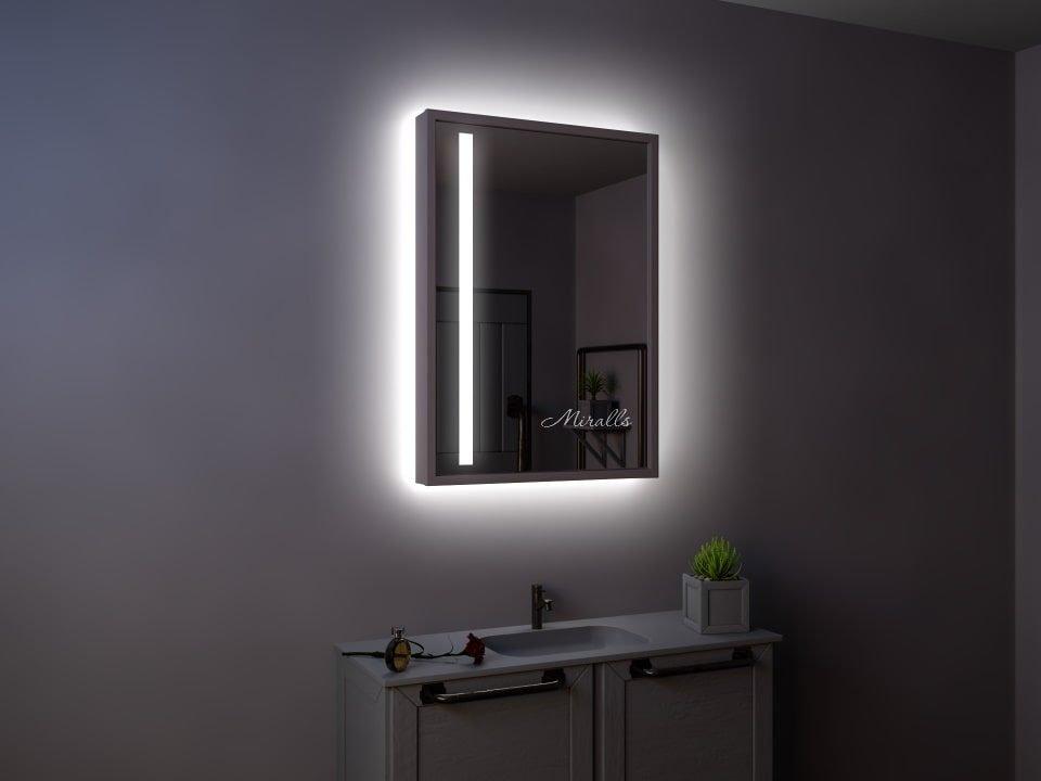 зеркальный шкаф Adrian с подсветкой