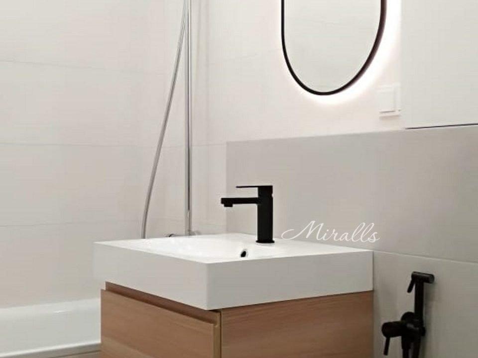Зеркало Alba с интерьерной подсветкой в раме