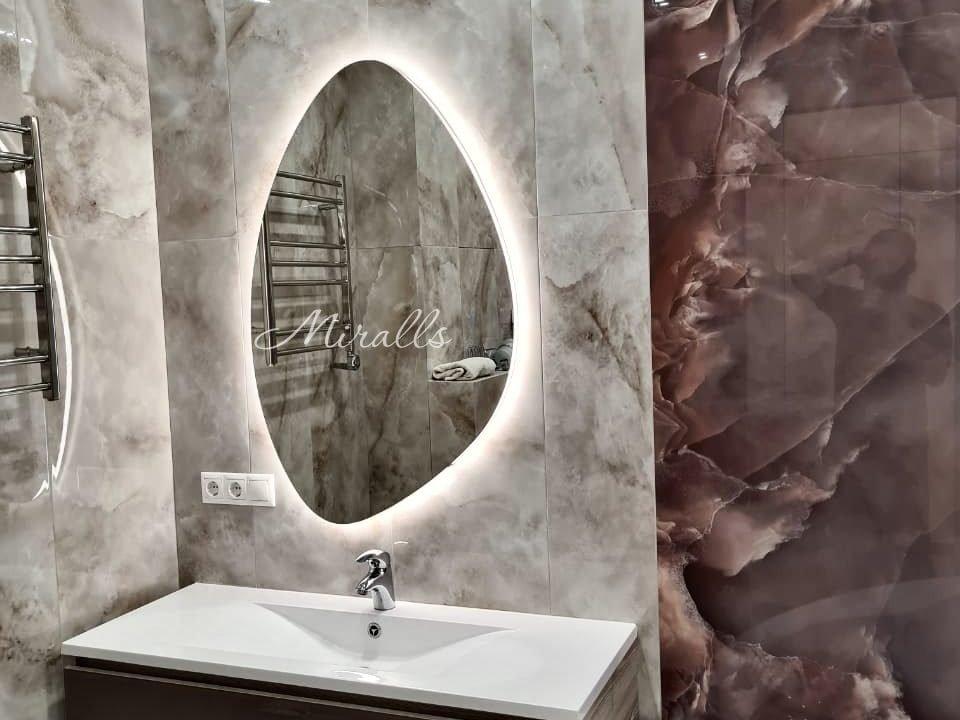 Зеркало Onyx Extra в ванной комнате