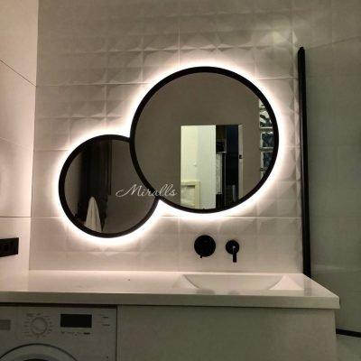 Зеркало Solaris Extra с интерьерной подсветкой