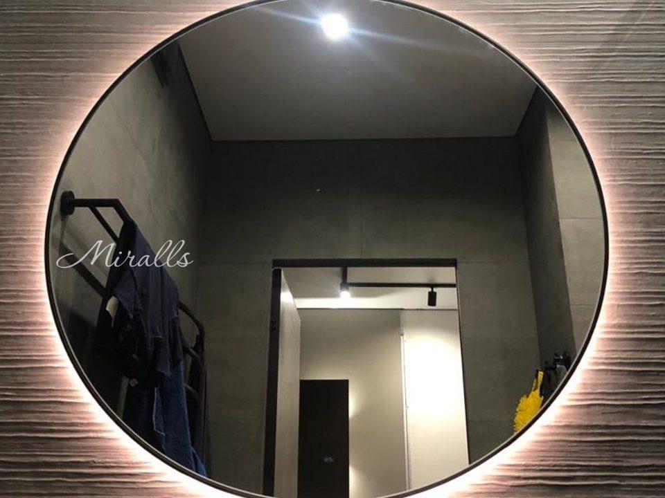 Зеркало круглой формы Medea Extra в ванне