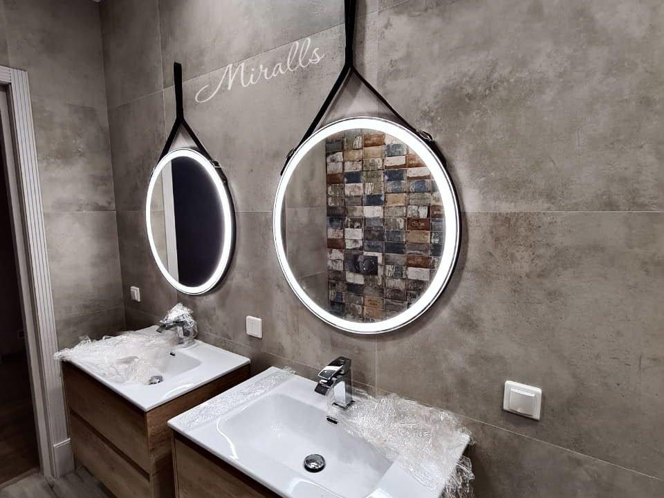 Зеркало на ремне Air с фронтальной подсветкой
