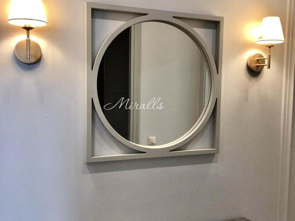 Дизайнерское зеркало без подсветки Madonna