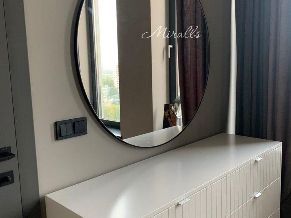 Круглое зеркало без подсветки Medea