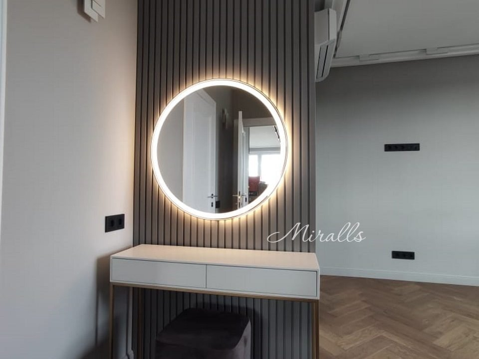 Круглое зеркало с подсветкой Medea Plus