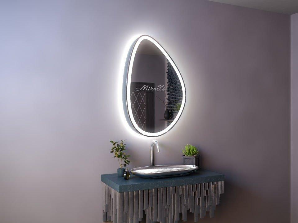 Зеркальный шкаф для ванны Erebus Plus