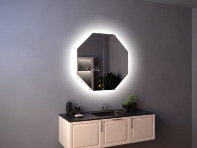 Зеркальный шкаф для ванны с подсветкой Pablo Extra