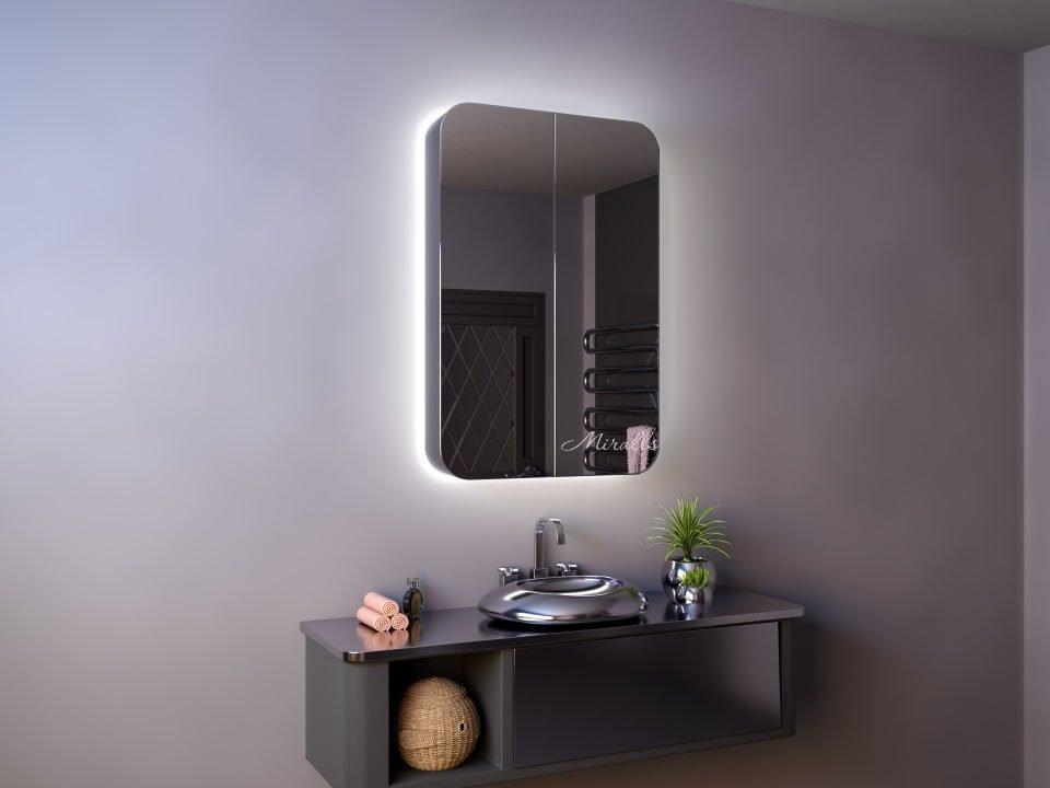 Зеркальный шкаф в ванну Alicante Extra