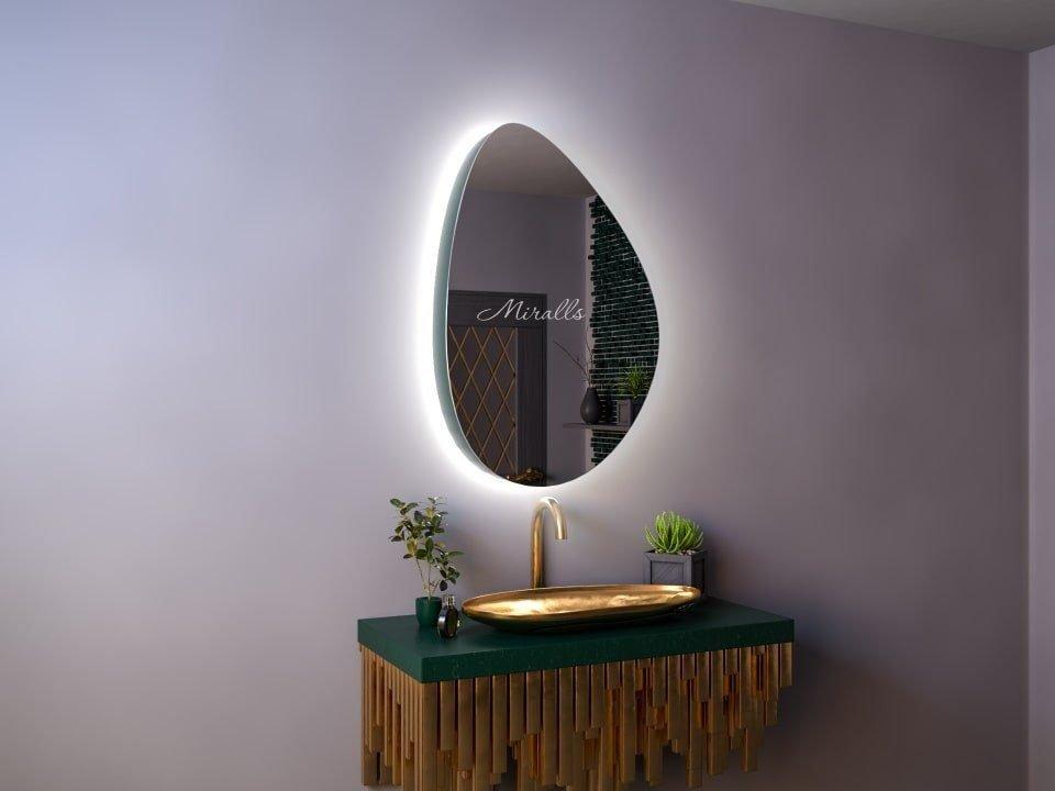 Зеркальный шкаф в ванную Erebus Extra