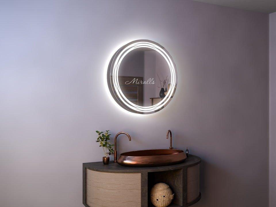 Зеркальный шкаф в ванную комнату Tonga
