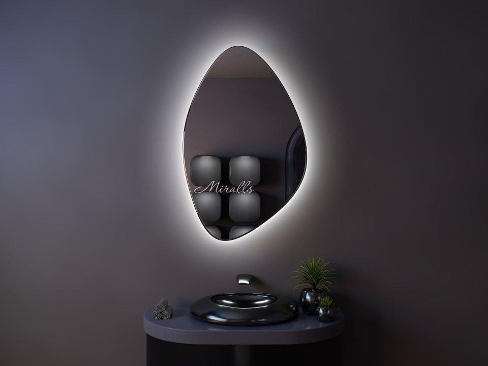 Зеркальный шкаф в ванную комнату с подсветкой Object Extra