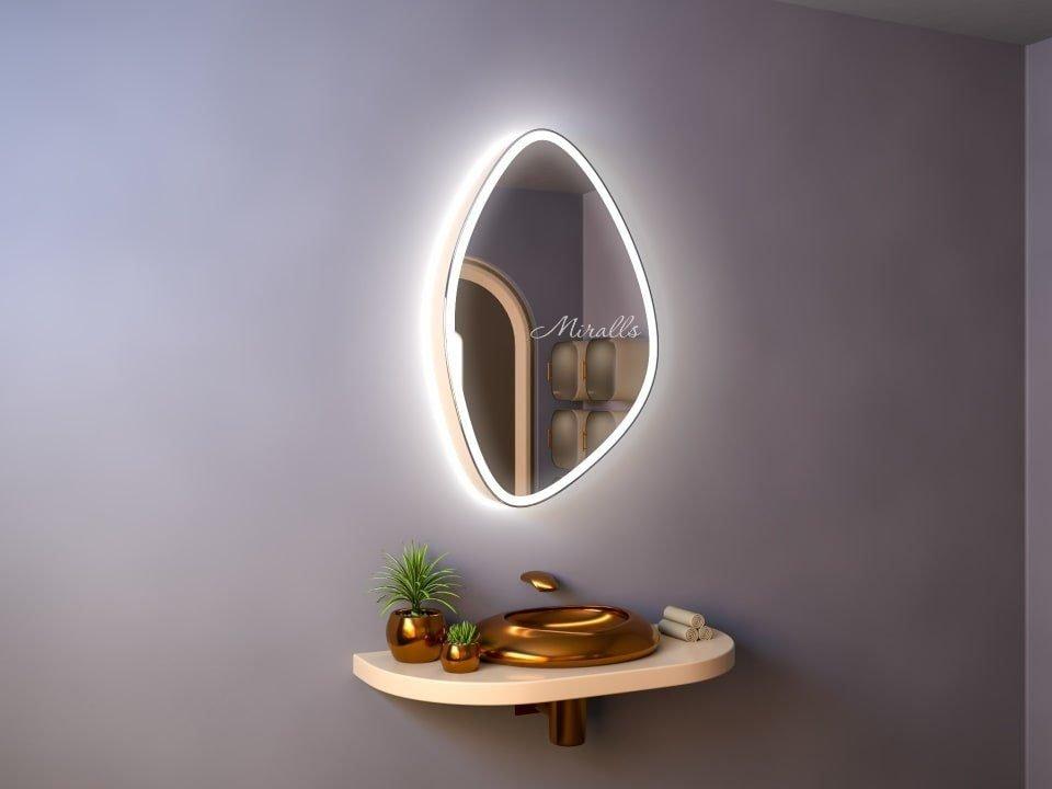 Зеркальный шкаф в ванную с подсветкой Object Plus