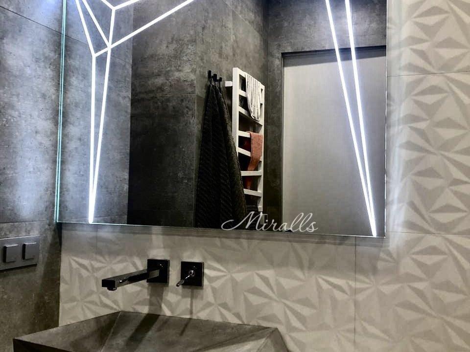 Зеркало с художественной подсветкой Zodiac