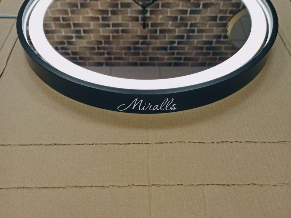 круглое зеркало с фронтальной подсветкой Oasis Plus