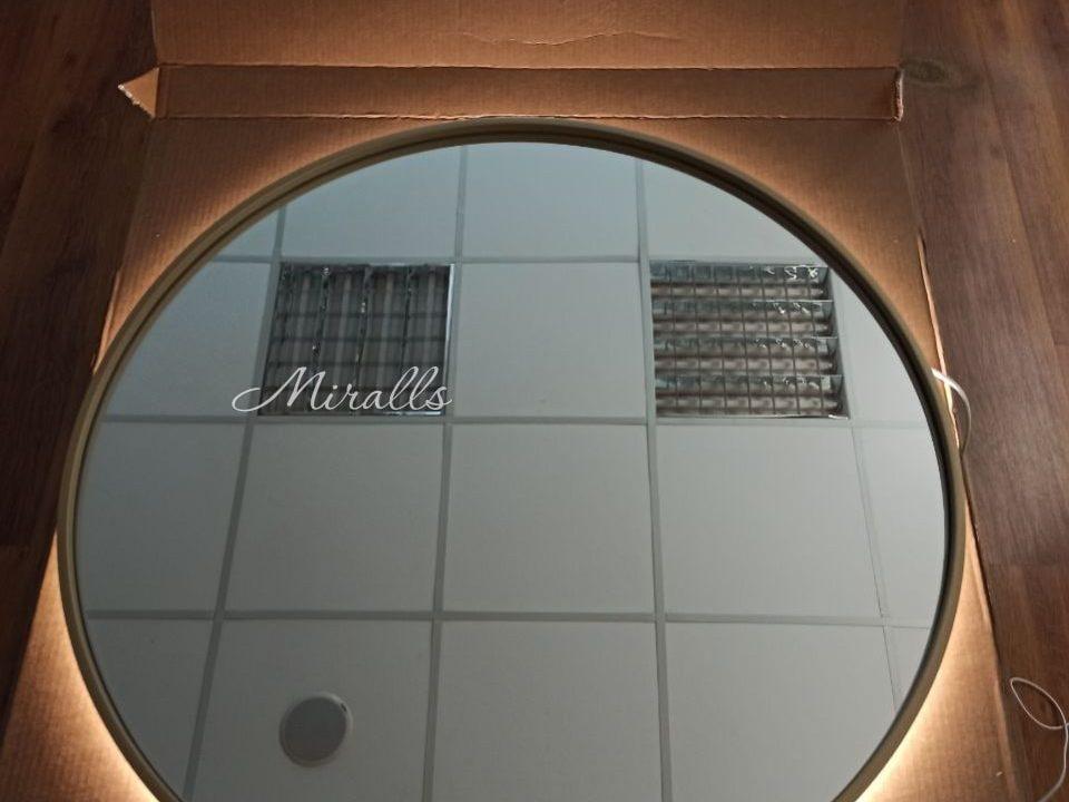 Круглое зеркало с подсветкой Oasis Extra