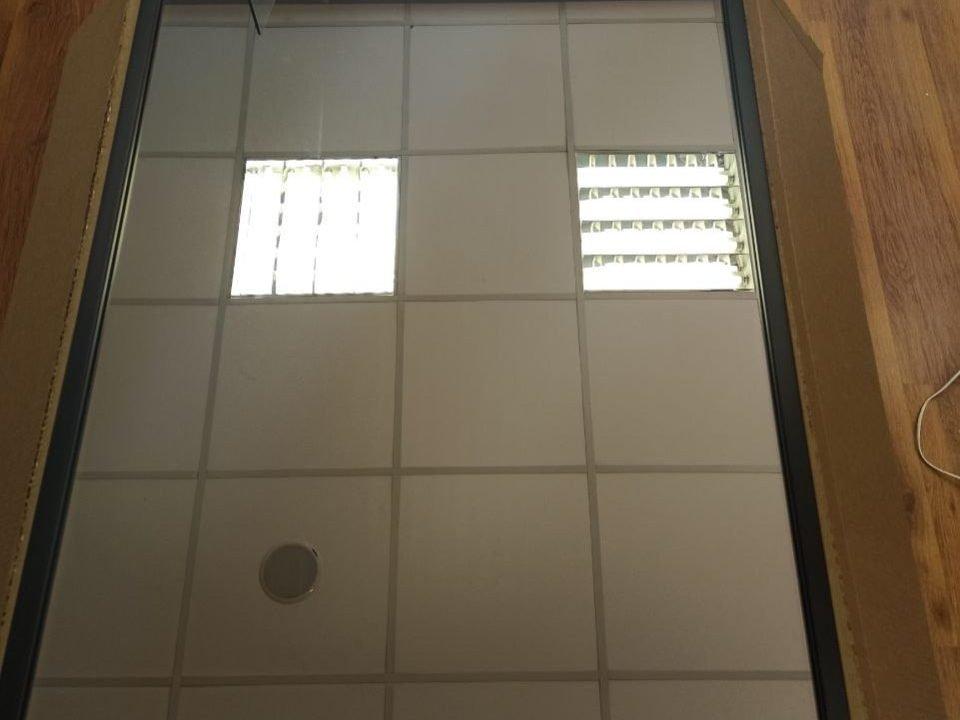 прямоугольное зеркало без подсветки Franco